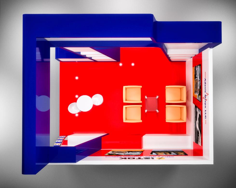 проектировка выставочного стенда